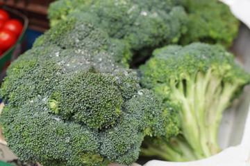 Cauliflower in the market