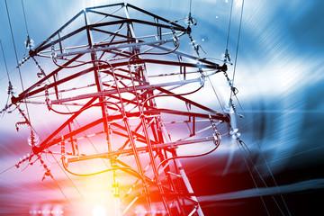 Torre electrica. Industria y energía.