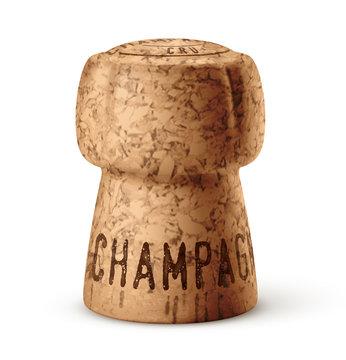 Bouchon de champagne vectoriel 2