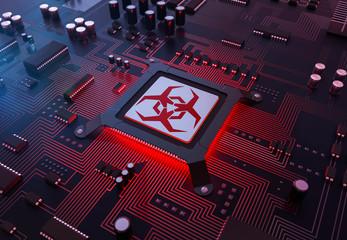 3d Computer Virus