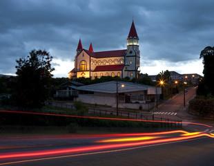 Saqrado Corazon al Jesus Church - Puerto Varas - Chile