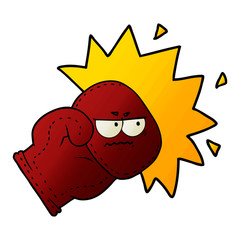 cartoon boxing glove