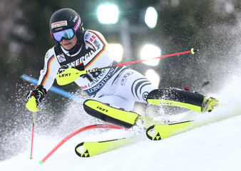 Alpine Skiing - FIS Alpine Skiing World Cup - Women's Slalom