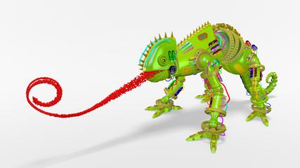 caméléon robot concept objectif à atteindre