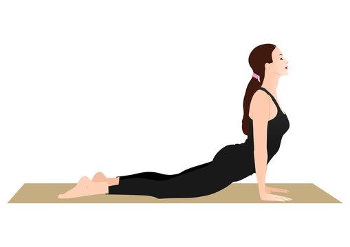 Cobra Pose Yoga (Bhujangasana)