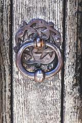 Heurtoir ancien en métal
