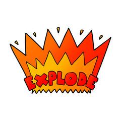 cartoon explosion
