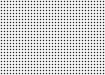 Square checkered seamless pattern. Quadratic geometric shape grunge dot