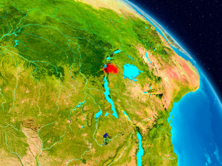Rwanda on Earth