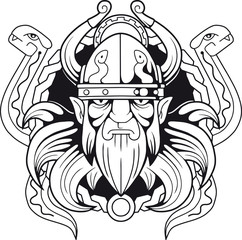 ancient Scandinavian god  of deception Loki