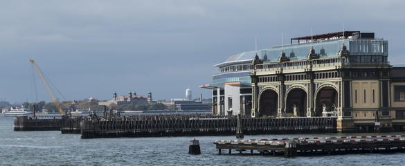 Battery maritime building New York City