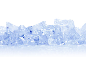 Ice cubes, isolated