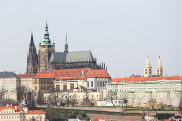 St Vitus Cathedral in Prague, Czech Republic