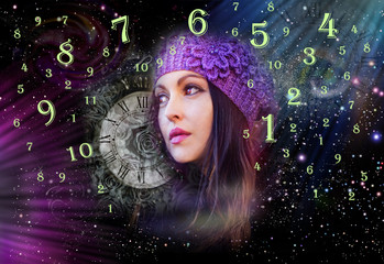 Woman in numerology world