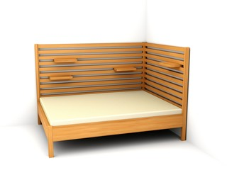 Bed 150/200