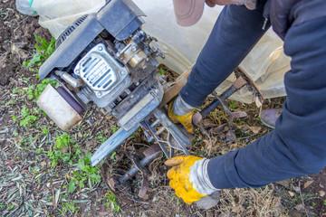 Hoeing Machine Engine Repairman and Maintenance
