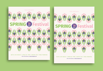 Spring Festival Event Flyer 1