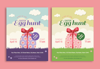 Easter Egg Hunt Flyer 1