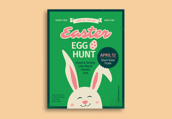 Easter Egg Hunt Flyer 2