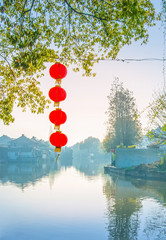 Xitang ancient water town. Located in Jiashan county of Zhejiang Province, with a history of more than one thousand years.