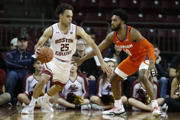 NCAA Basketball: Clemson at Boston College