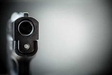 Pistol Handgun and Background