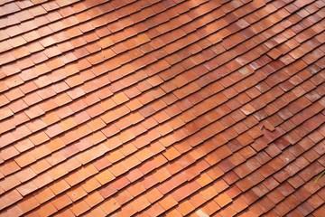 A roof tiles background