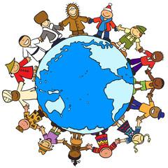 Children Link the World