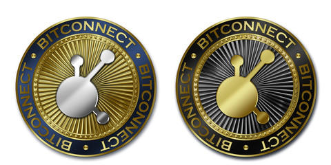 Cryptocurrency BITCONNECT coin