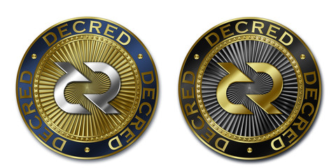 Cryptocurrency DECRED coin