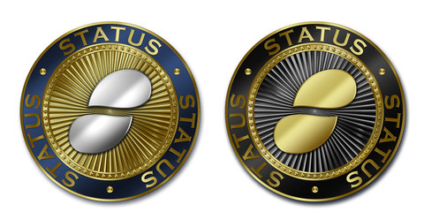 Cryptocurrency STATUS coin