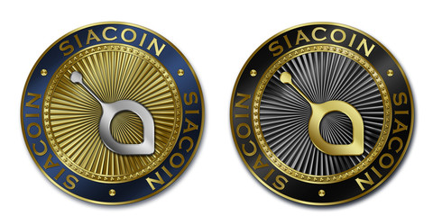 Cryptocurrency SIACOIN coin
