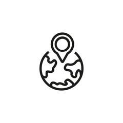 Local SEO line icon