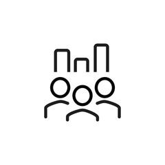 Rating symbol line icon