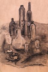 Still life with jug