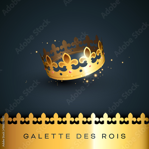 Piphanie galette des rois stock image and royalty free vector files on pic - Epiphanie galette des rois ...