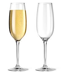 Coupes de champagne vectorielle 3