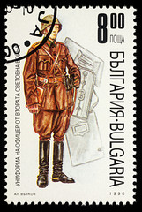 Bulgarian officer of the Second World War