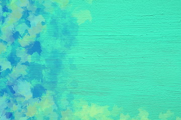 Vivid  painting closeup texture background with brush strokes. For creative patterns. background, wallpaper, web, print, posters, postcards, design ideas. Creative and interesting.