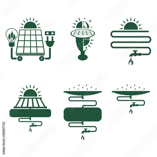 Quot Solar Electric Power Night Lamp With Solar Panel Solar