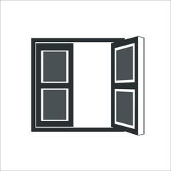 Window icon.  illustration