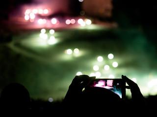 Fotografare di notte con il telefono