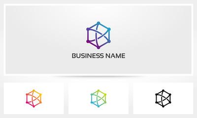 Linked Hexagon Logo