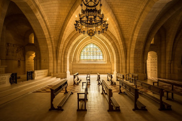 WW1 Memorial Chapel in Dormans, France