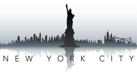 new york silhouette label