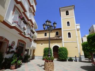 La Rábita, localidad costera de Granada, comunidad autónoma de Andalucía (España)