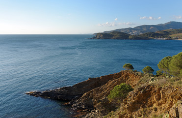 Northern Catalonia coast in France