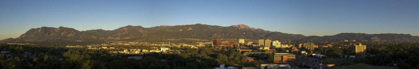 Colorado Springs Pano