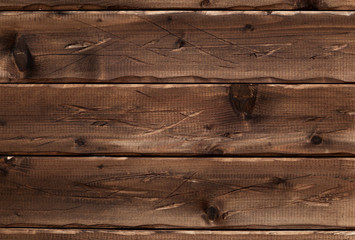 wood texture background. Vintage scratched gnarled wooden surface. Wooden boards
