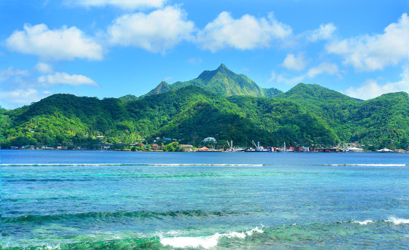 View of American Samoa